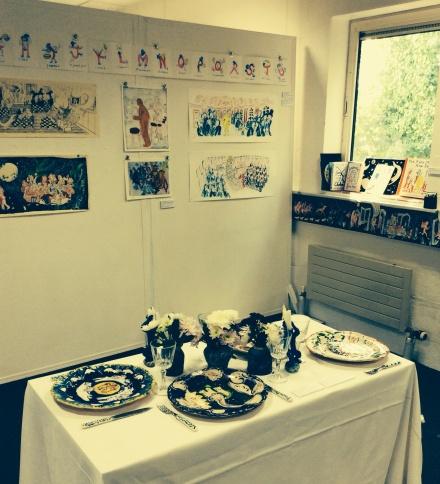 Alice McDonald's Falmouth illustration degree  show 2014