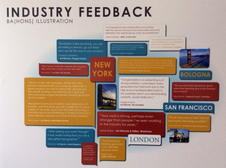 A selection of comments from industry from our various study trips this year