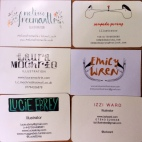 Falmouth Illustration business cards