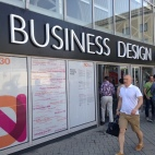 Entrance to Business design centre