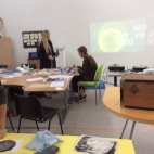 The Project Space during the Big Draw week