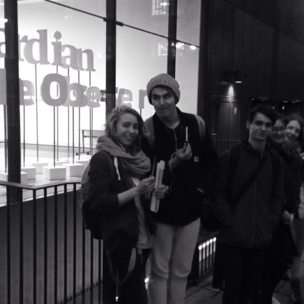 Outside the guardian