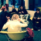 Students at the guardian