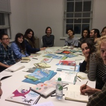 Students at the Tate Publishing visit