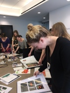 Falmouth Illustration Students visiting Harper Collins New York 2017