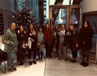 Students visiting Egmont