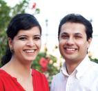 Founder Kahani Designworks Ruchita Madhok with fellow Principal Aditya Palsule
